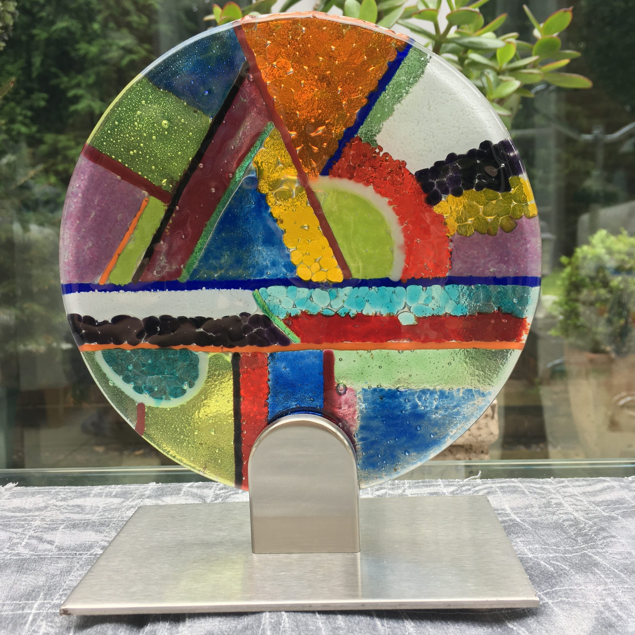 Art Deco Fused Glass