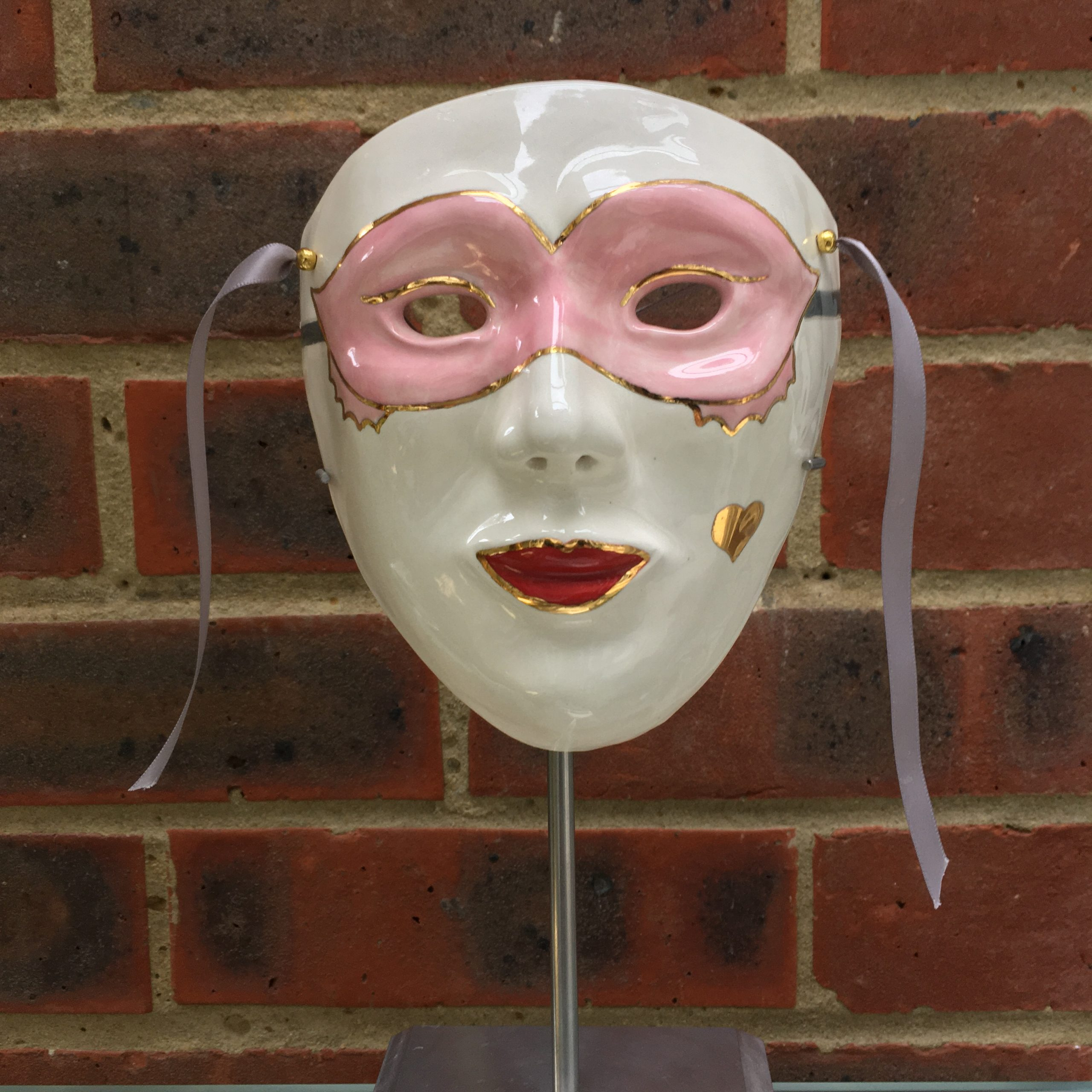 'Lady Eleanor' Venetian Mask